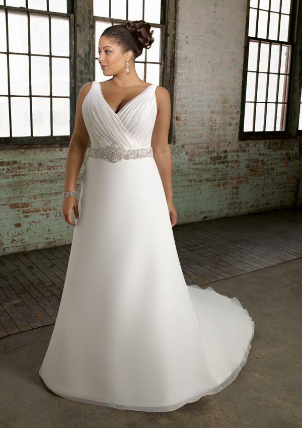 Mujeres gordas con vestidos de novia