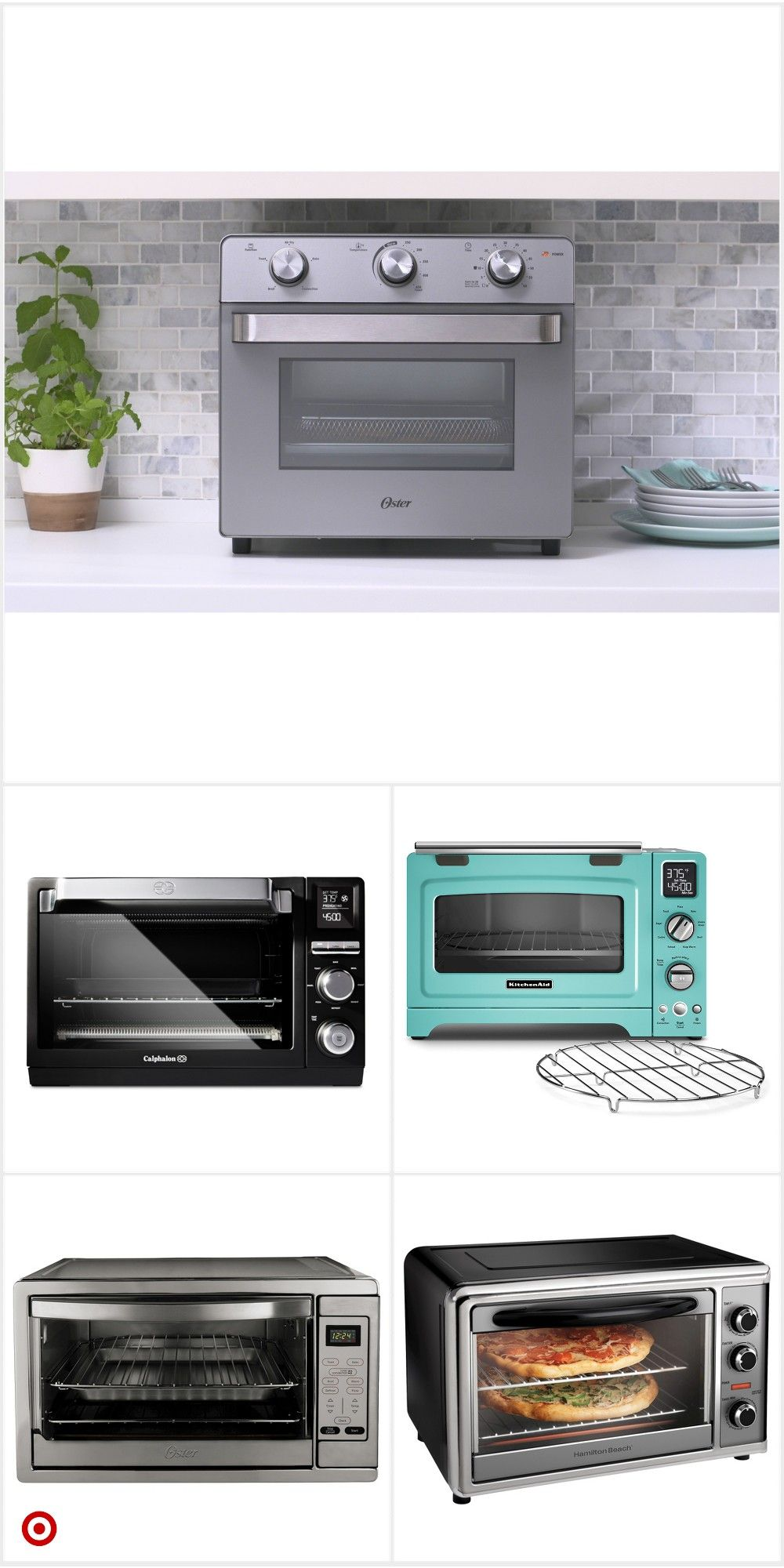 Shop Target For Countertop Ovens You Will Love At Great Low Prices Free Shipping On Orders Of 35 Or Fr In 2020 Countertop Oven Kitchen Armoire Countertops