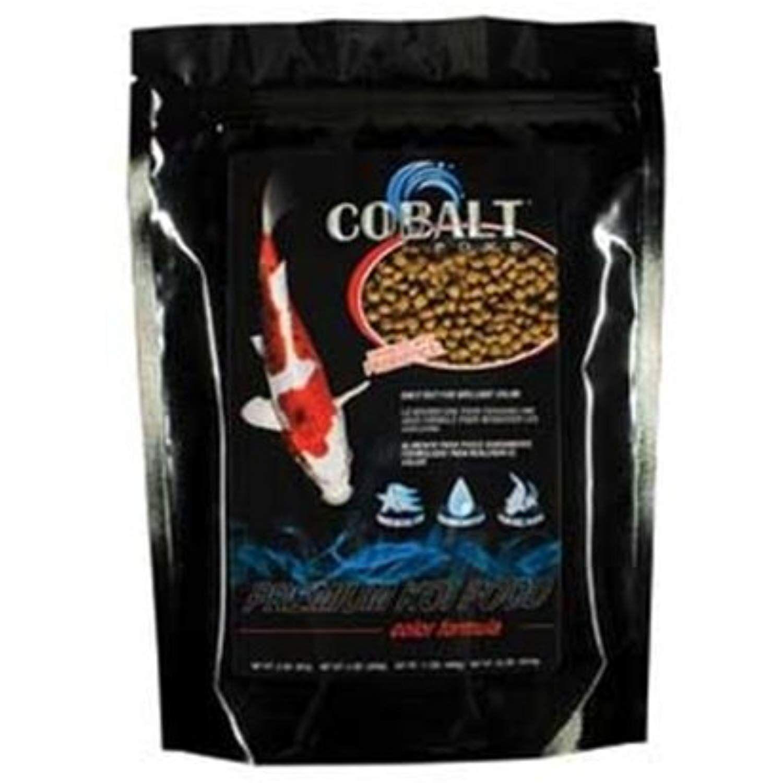 Cobalt pond color formula koi food pellet 40pound