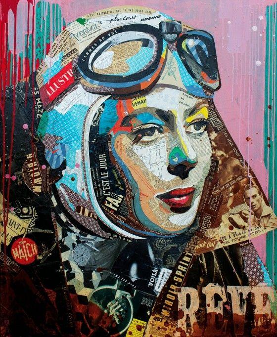 By Arnaud Bauville #gallery #artist #art