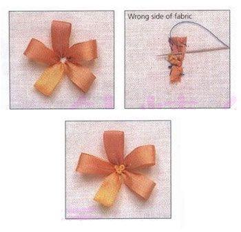 Плетение лентами пошаговая инструкция