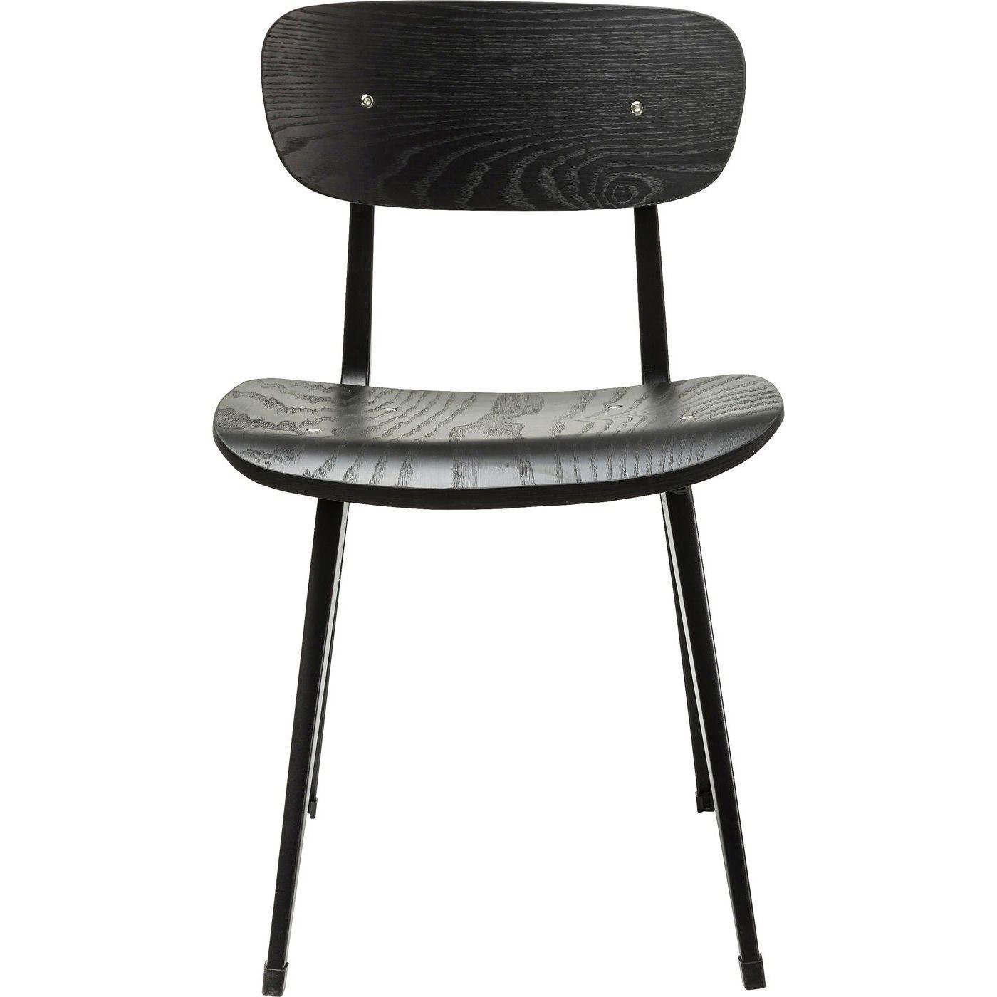 Stuhl Oslo Schwarz Schwarz Kare Design Stuhle Design