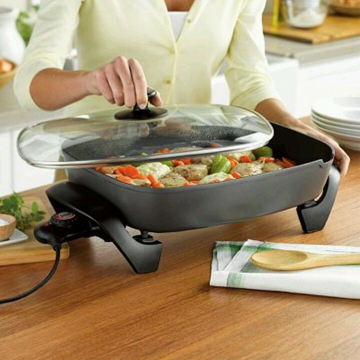 Kohls electric skillet. Want!!!! Bday 2013