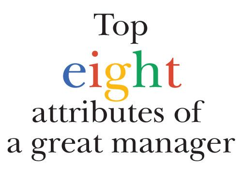 8 Attributes of a Great Manager, according to Google - HR Grapevine
