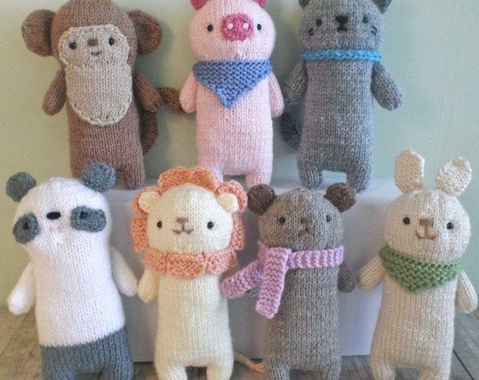 Amigurumi Knit Baby Doll Patterns Digital Download | Pinterest ...