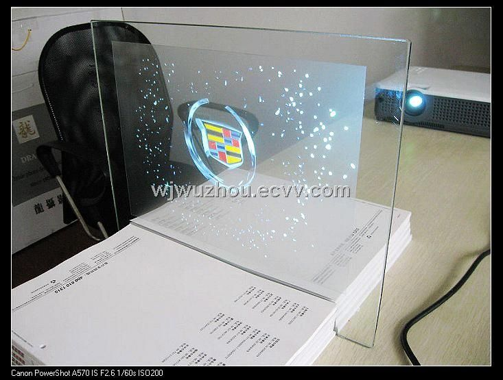 Glass Optical Rear Projection Screen Display Film Adhesive