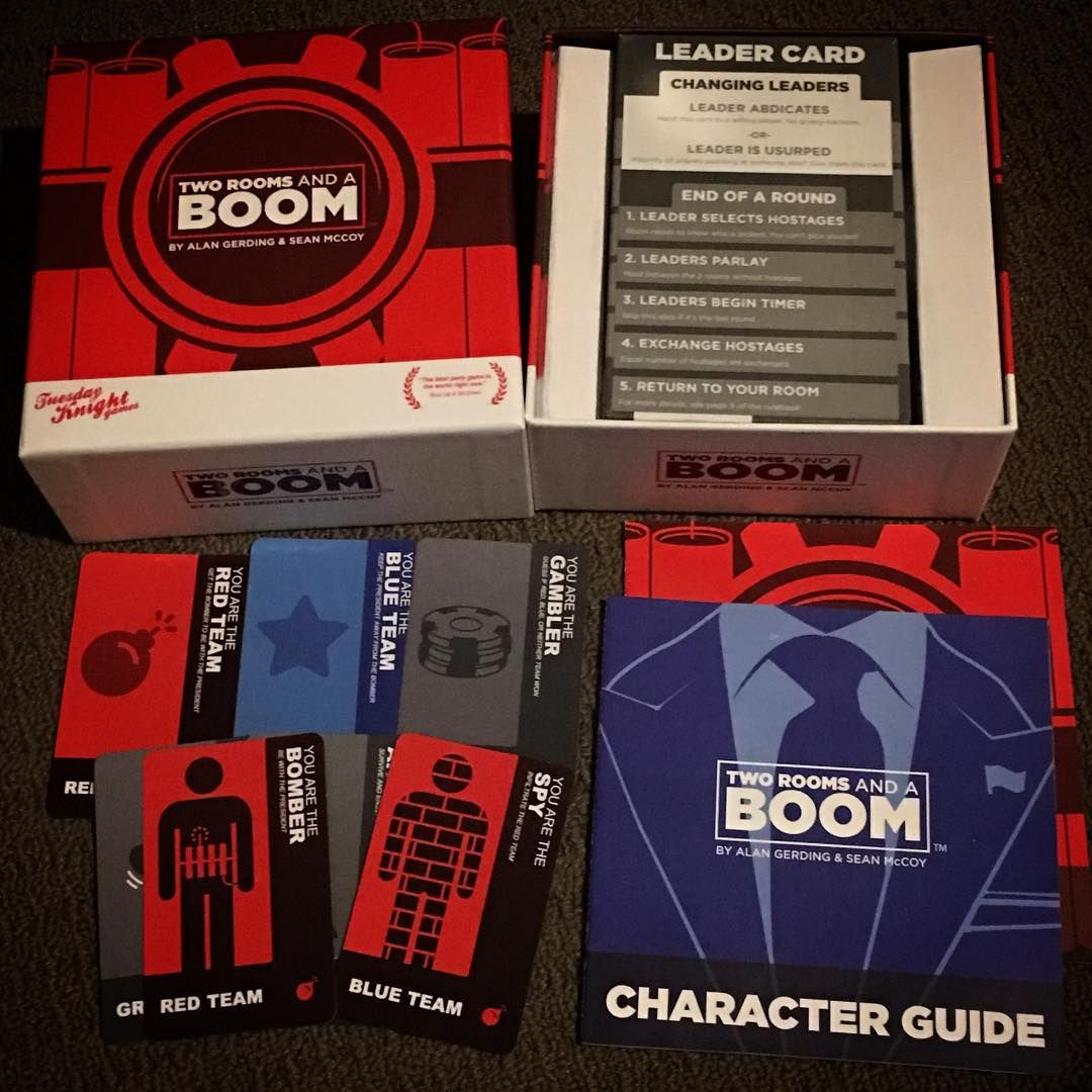 Looking for a great party game and Werewolf not cutting it anymore? Try #TwoRoomsandaBoom because it's great fun! A wee twist on the social deduction genre. #boardgame #boardgamer #boardgames #tabletop #tabletopgame #tabletopgames #tabletopgamers #bgg #boardgamegeek #juegodemesa #brettspiel #partygames #partygame #cardgame #cardgames