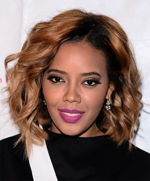 Angela simmons medium wavy casual hairstyle medium red copper angela simmons medium wavy casual hairstyle medium red copper hair color pmusecretfo Image collections
