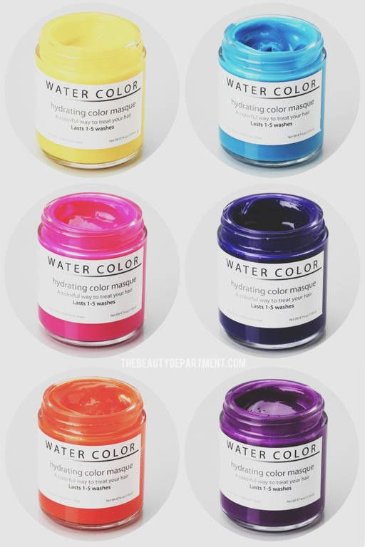 Water Color Hydrating Hair Masque Hair Masque Hydrate Hair