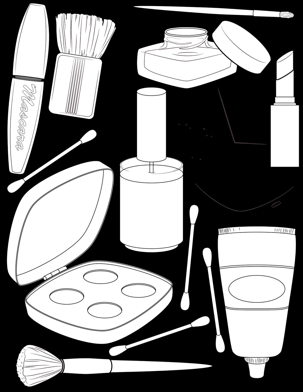 Makeup Coloring Pages Free Http Www Wallpaperartdesignhd Us Makeup Coloring Pages Free 47025 Coloring Pages Barbie Coloring Pages Coloring Pages To Print
