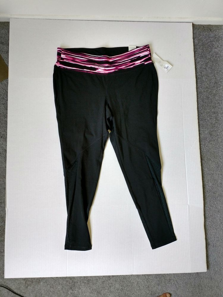 ffff45174f93e LIVI Active signature stretch legging yoga pants plus sz 18 20 nwt lane  bryant  fashion  clothing  shoes  accessories  womensclothing  activewear