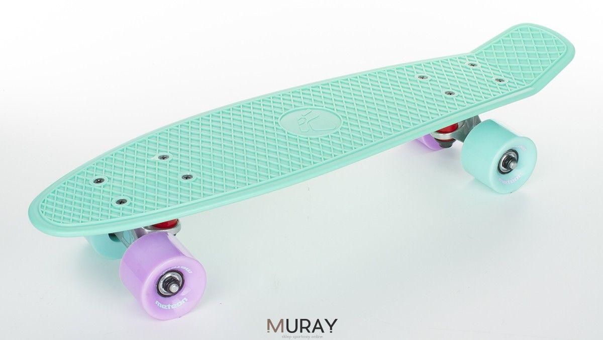 Fiszka Deskorolka Plastikowa Meteor Mietowa Mieszane Kolka Skateboard Skate
