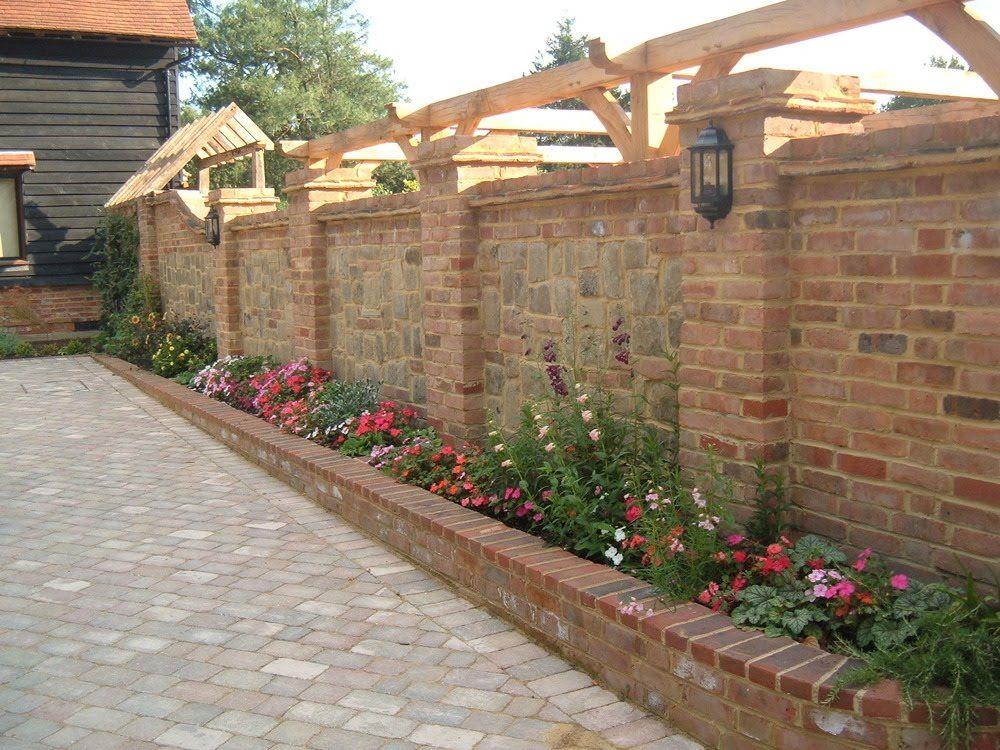Landscaping Old Stone Walls Garden Bricks I Garden Bricks For Edging Youtube Brick Wall Gardens Brick Garden Landscape Bricks