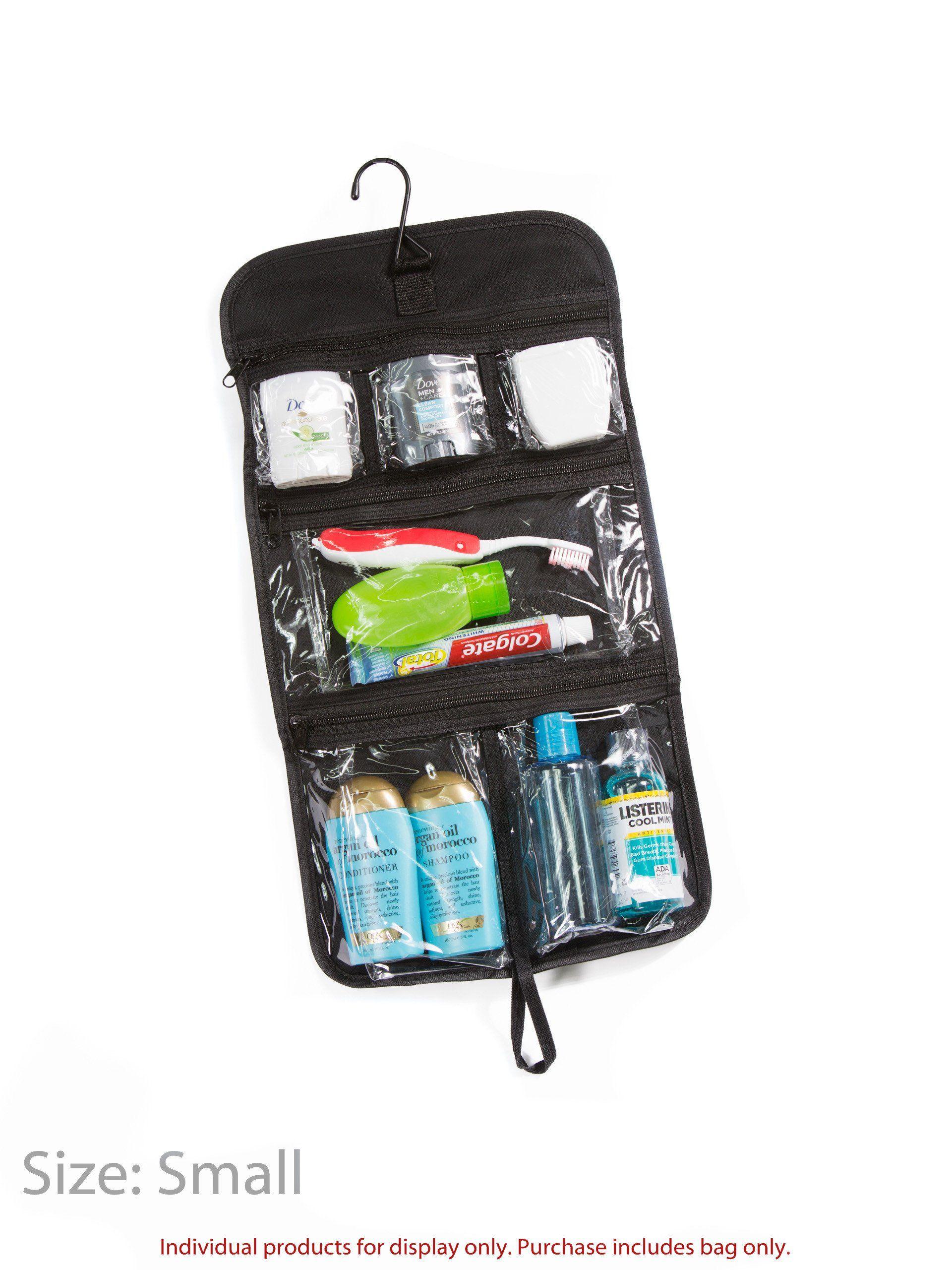 Expert Traveler Hanging Toiletry Bag - Designed By Travelers for Travelers e4859c35cbf92