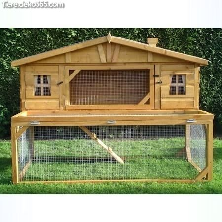 Photo of Great Unique and easy to build rabbit house