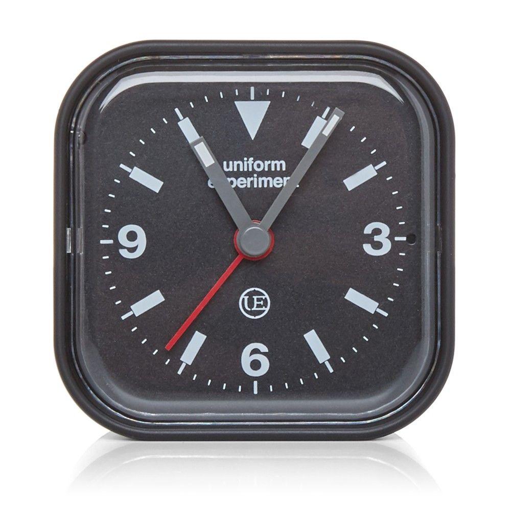 Uniform Experiment Radio Alarm Clock (Black)