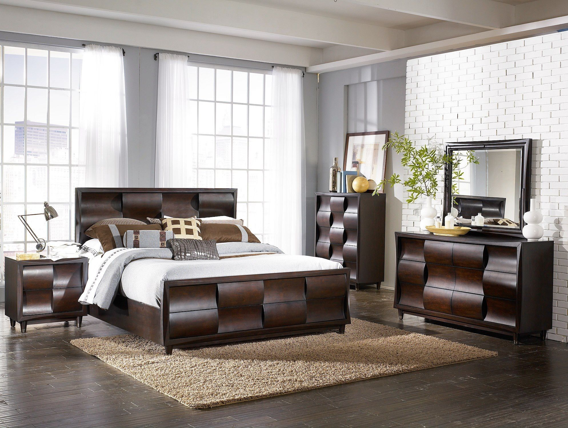 Juego De Cuarto Master Muebleria Berrios 1 795 5 Piezas 2 395 8 Piezas Con Matres Simmons Queen Master Bedroom Set Bedroom Set Bedroom Sets