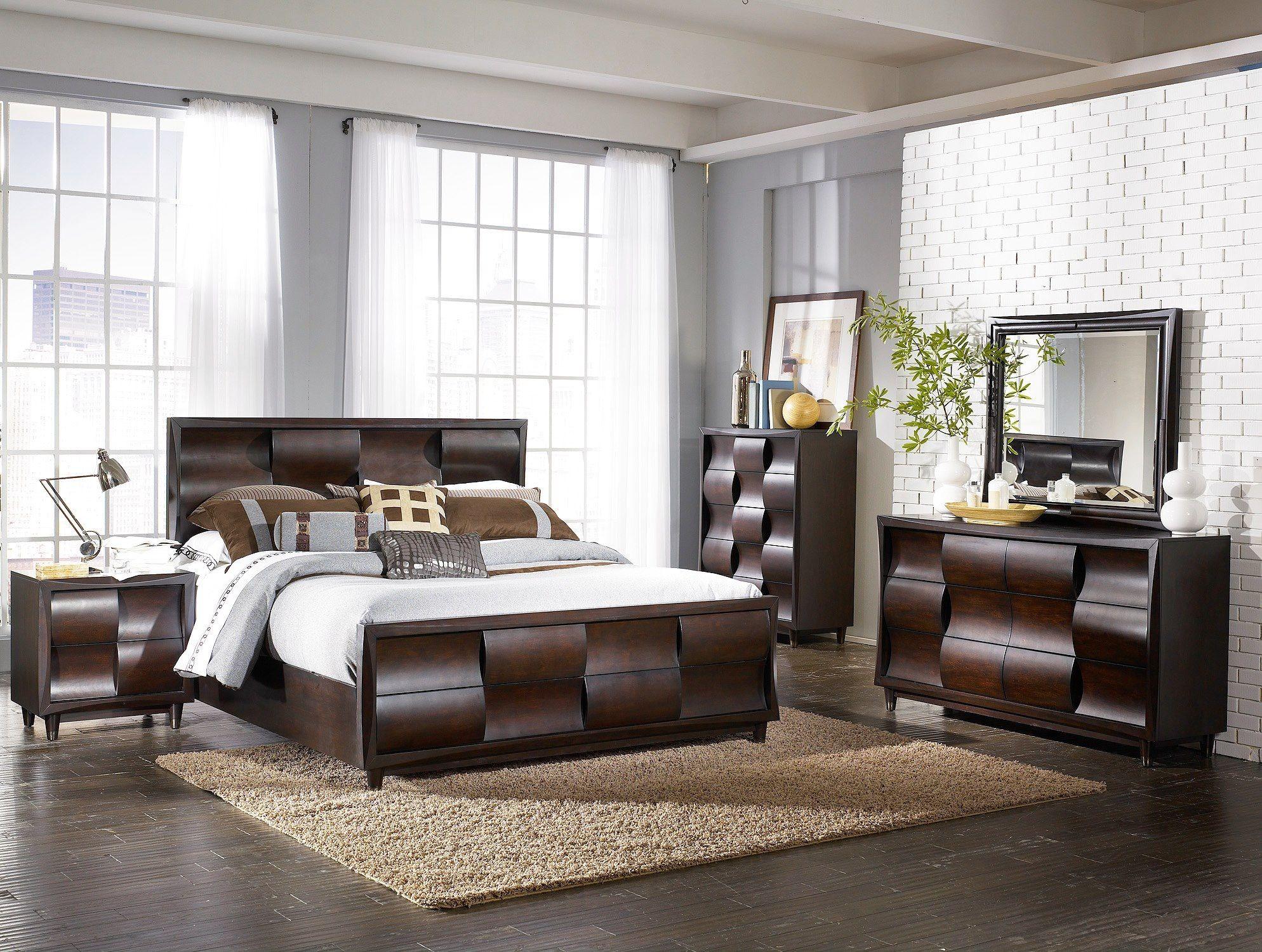 Simmons Bedroom Furniture Juego De Cuarto Master Muebleria Berrios 1795 5 Piezas 2395