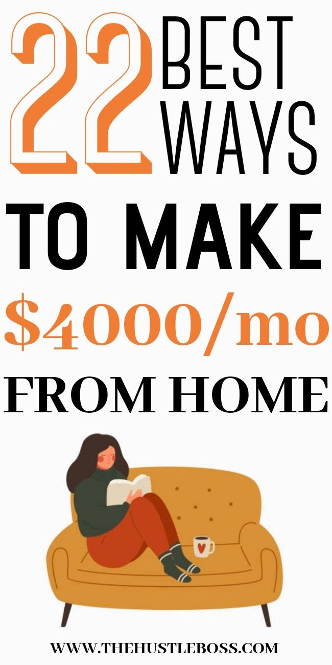 The easy ways to make money from home working thro