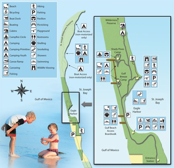 St Joe Florida Map.St Joseph Peninsula State Park Port St Joe Fl Camping In 2019