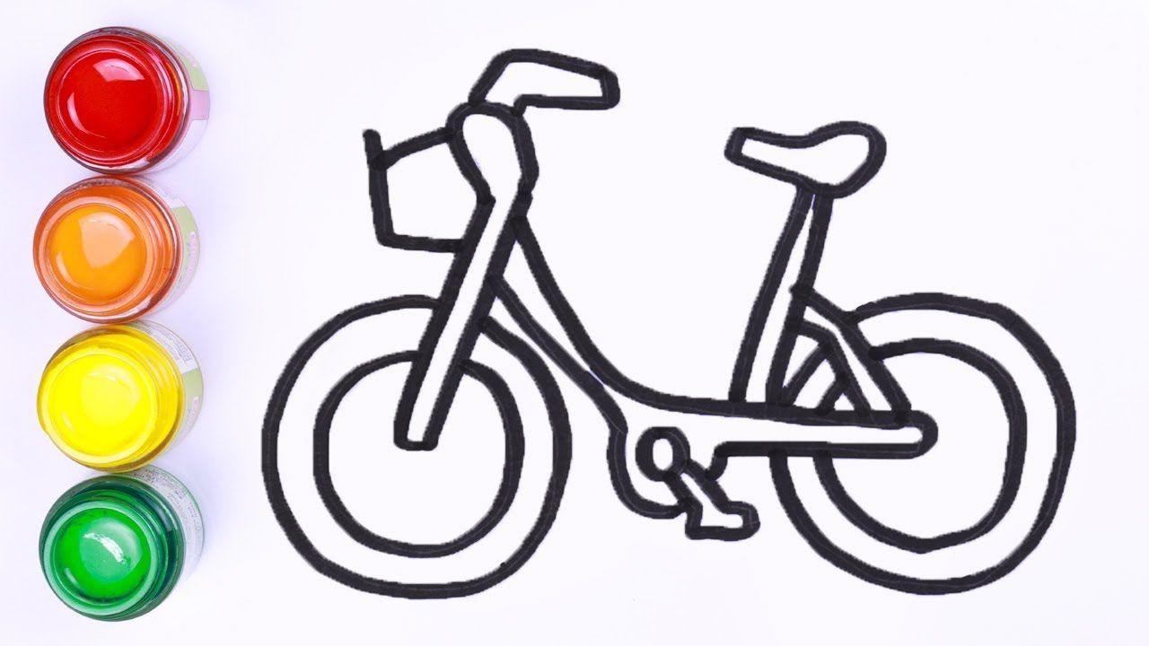 Bagaimana Menggambar Sepeda