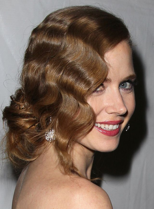 The Best and the Worst Hairstyles at the 2013 Golden Globe Awards: Best Updo: Amy Adams