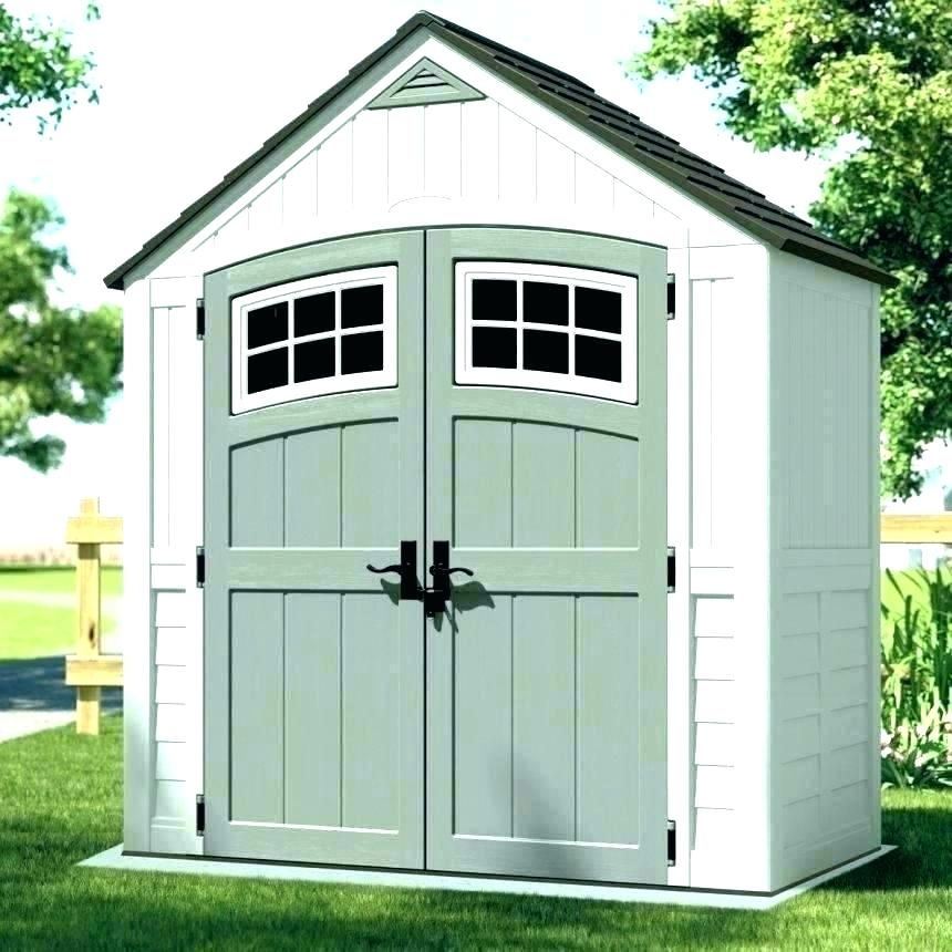 Paint Shed White With Pale Green Doors Plastic Storage Sheds Backyard Storage Sheds Plastic Sheds