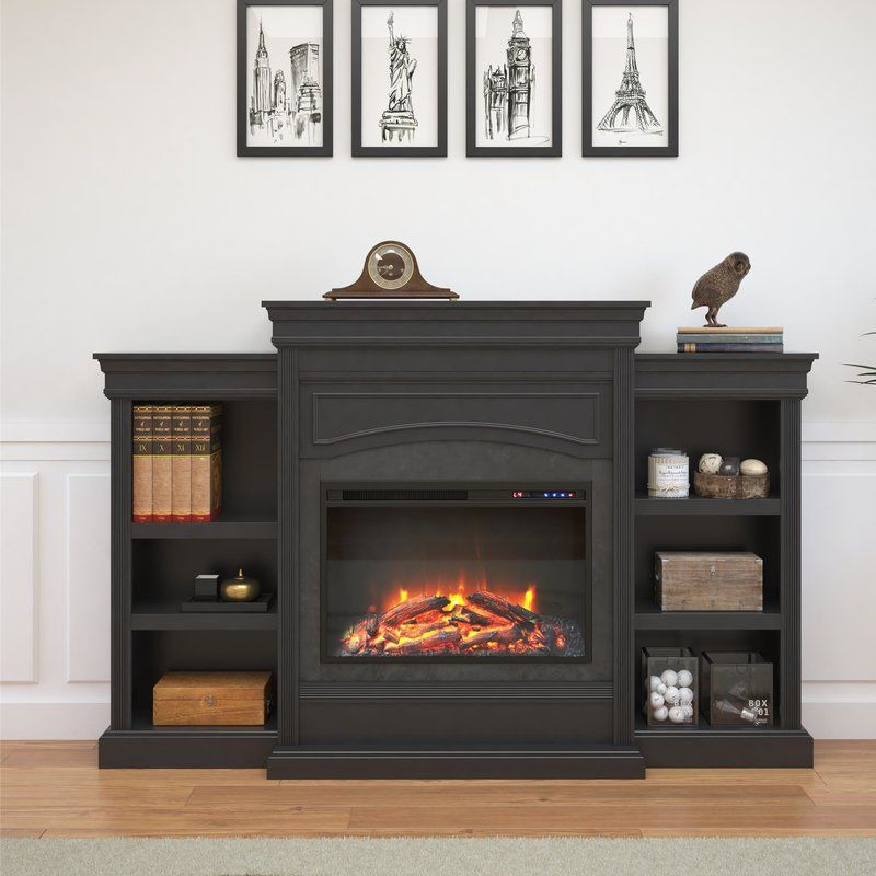 Allsop Mantel Wall Mounted Electric Fireplace Electric Fireplace