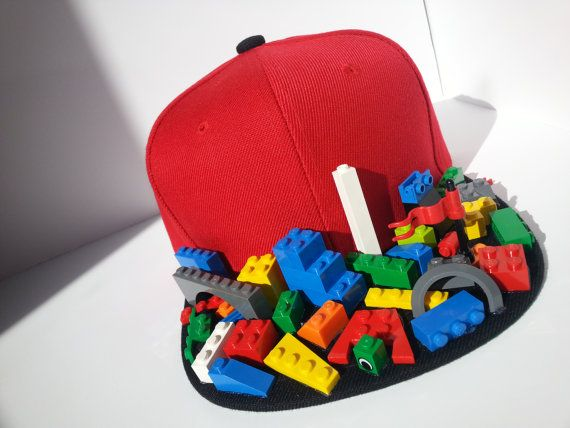 Snapback Flat Bill Lego Hat 2 Crazy Hat Day Silly Hats Crazy