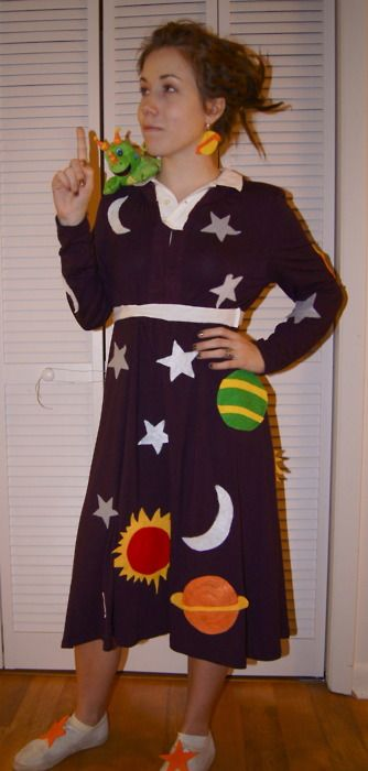 love this ms frizzle costume