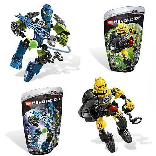 LEGO Heroes Evo and Surge Set | Hero factory, Lego lego and Lego