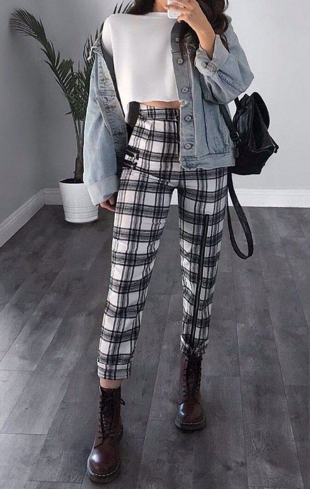 25+ Fashionable Outfit Ideas for School #schooloutfits #outfitsideas #dailyoutfits » Out-of-darkness.com