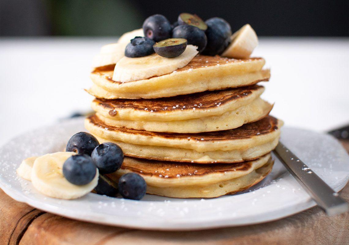 Recipes with Rachel Allen – Banana Pancakes