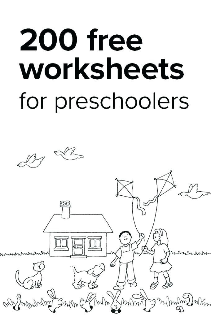 23 Preschool Worksheets Age 2   Accounting Invoice in 2020 ...