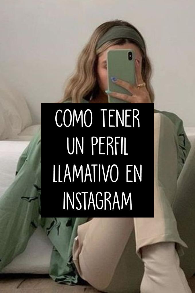 Como Tener Un Perfil Llamativo En Instagram Foto De Perfil Instagram Fotos Tumblr Para Instagram Aplicaciones Para Fotos Tumblr