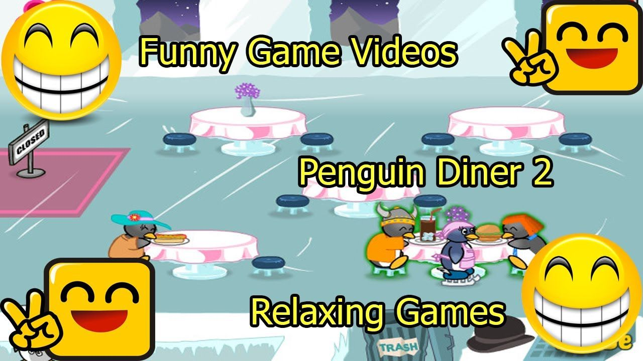 Funny Game Videos Relaxing Games Penguin Diner 2 9