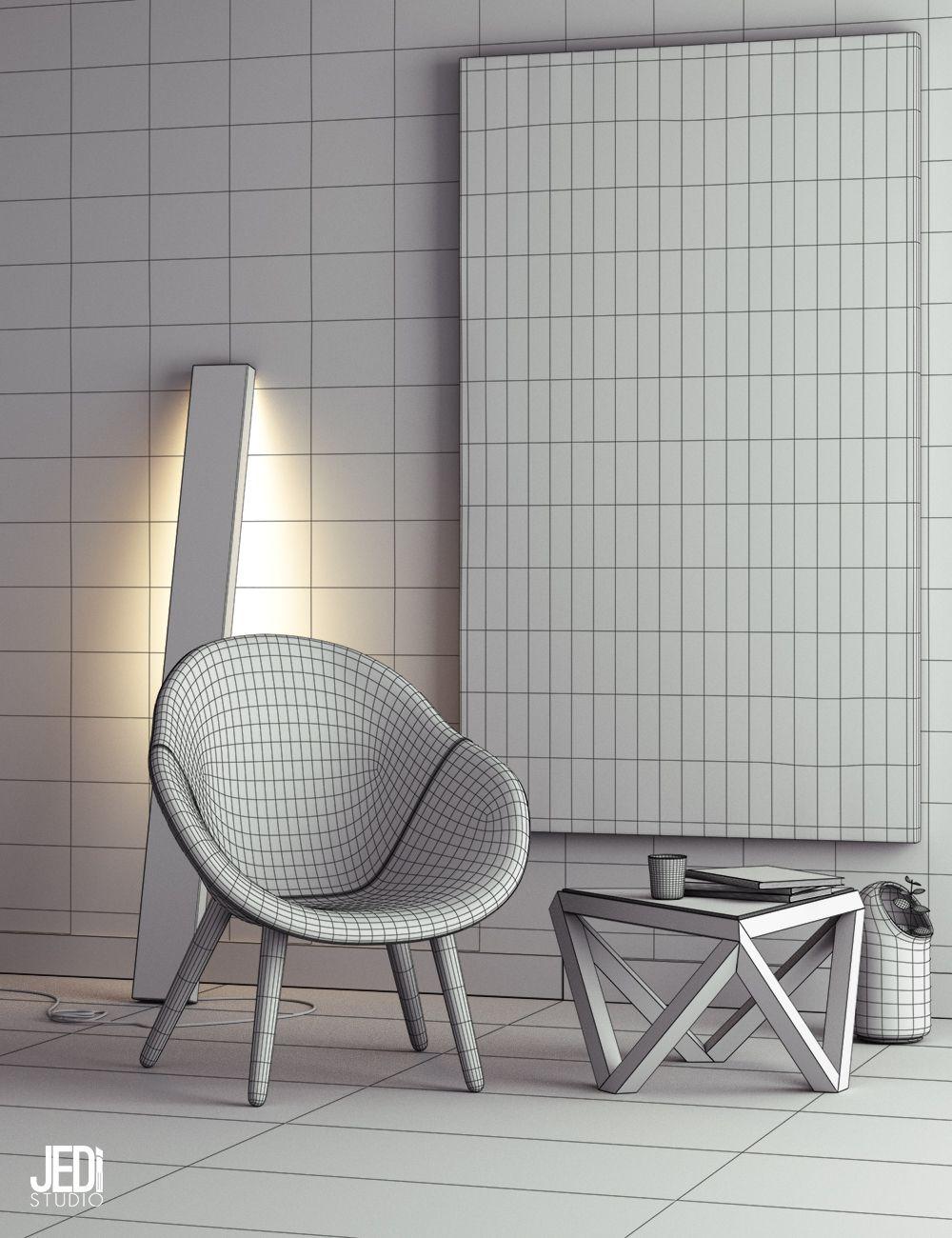 Contemporary Loft In Monochrome Design