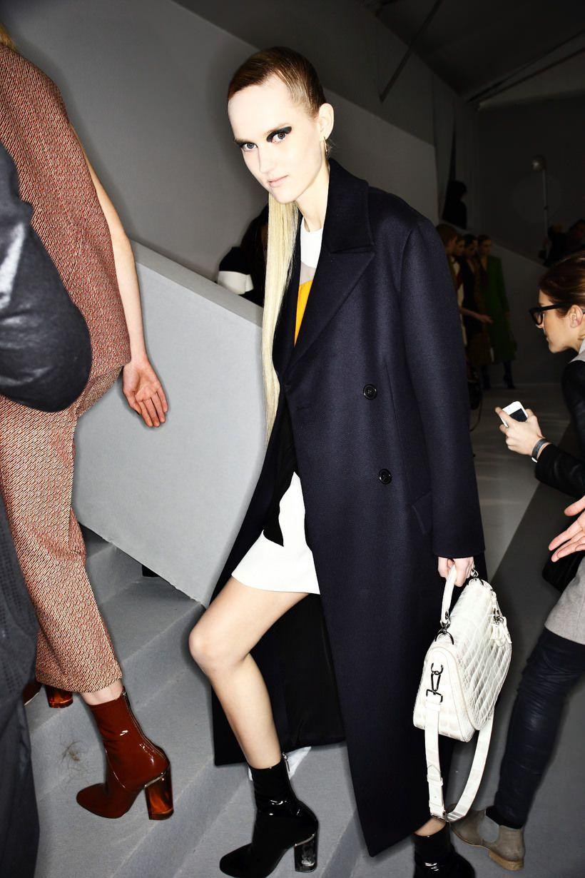 Christian dior aw1516 fashion show paris backstage