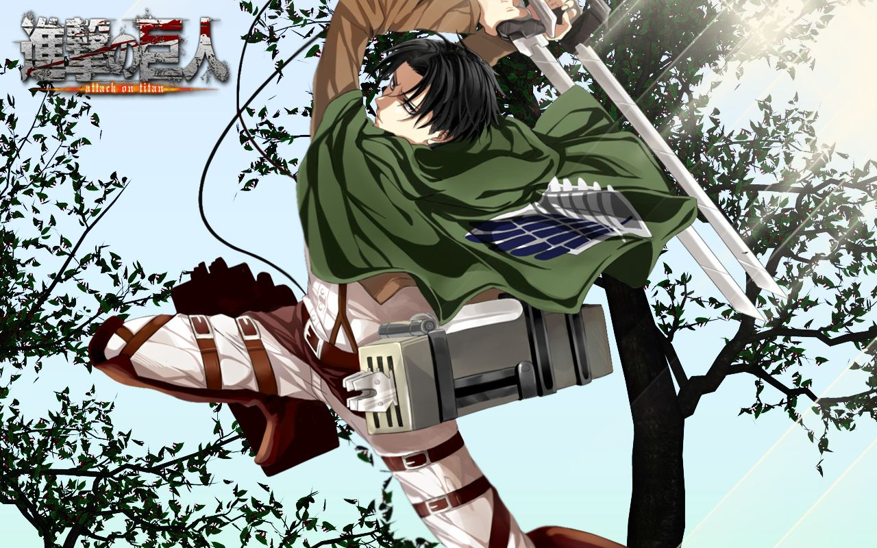 Shingeki No Kyojin Levi Wallpaper by on