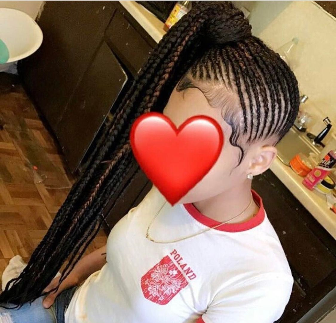 Braided Ponytail To See More Follow Kiki Amp Slim