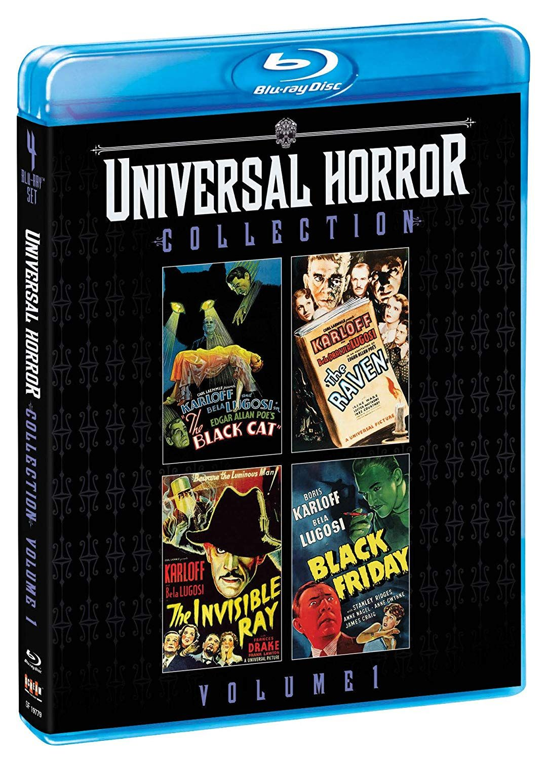 Universal Horror Collection Volume 1 The Black Cat, The