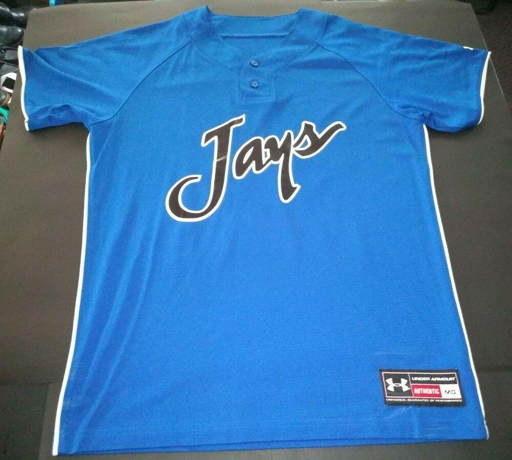 brand new ef8b4 b2fee Under Armour Men's Medium Toronto Blue Jays Pullover Jersey ...