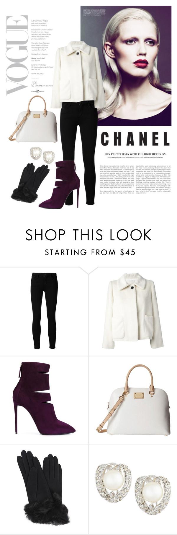 """#H"" by deame ❤ liked on Polyvore featuring moda, Goldsign, Marc Jacobs, Giuseppe Zanotti, Michael Kors, Carolina Amato, Belpearl, women's clothing, women's fashion e women"