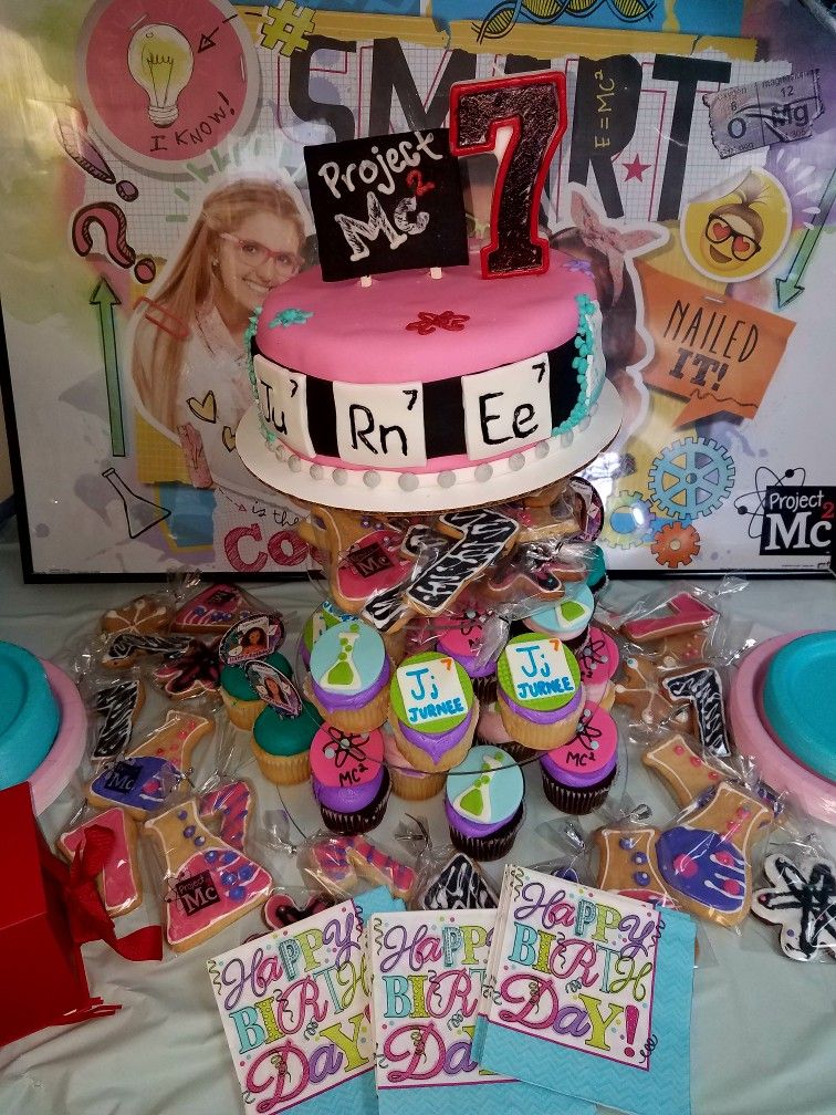 Project Mc2 Inspired Party In 2019 Project Mc Project