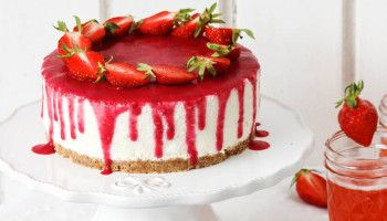 Erdbeer Nobake Joghurt - Törtchen