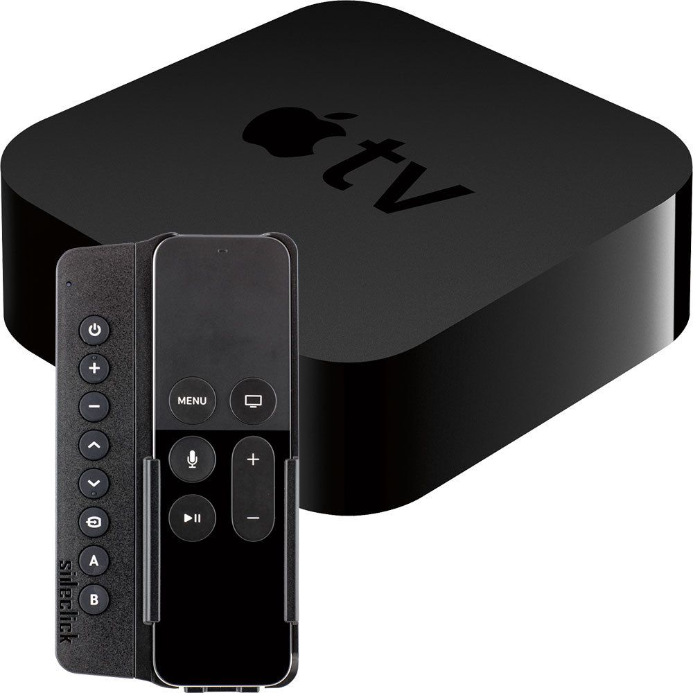 Apple Apple Tv 32gb 4th Generation Sideclick Universal Remote Attachment Package Apple Tv