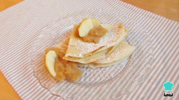 Aprende a preparar crepes dulces caseros con esta rica y fácil receta. La crepes dulces tienen su origen en Francia y son un tipo de tortilla delgada muy popular en...