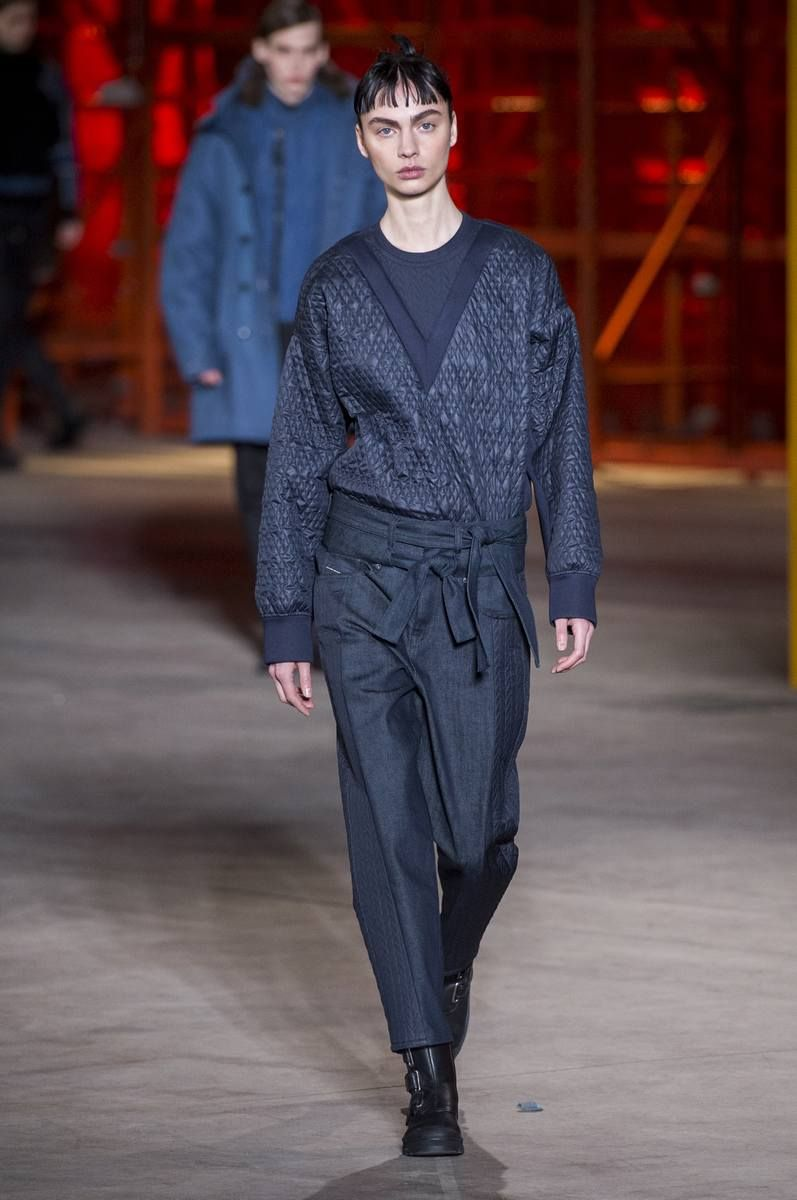 Diesel black gold fall / winter 2017 collection - new york fashion week
