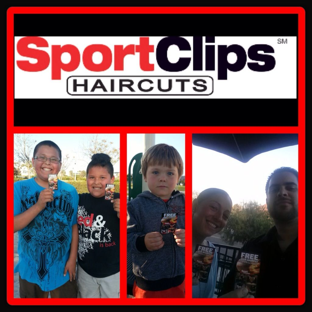 Sport Clips model Tiera is nonstop! These cuties all