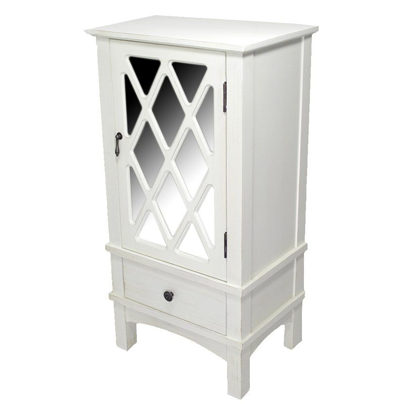 Langport 1 Drawer Accent Cabinet | Accent doors, Wood ...